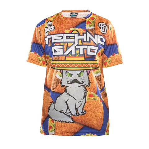 "HK Army Techno Kitty ""Tacos"" DryFit Shirt"