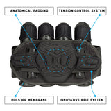 Neu - HK Army Zero G 2.0 Harness 3+2+4 Battlepack