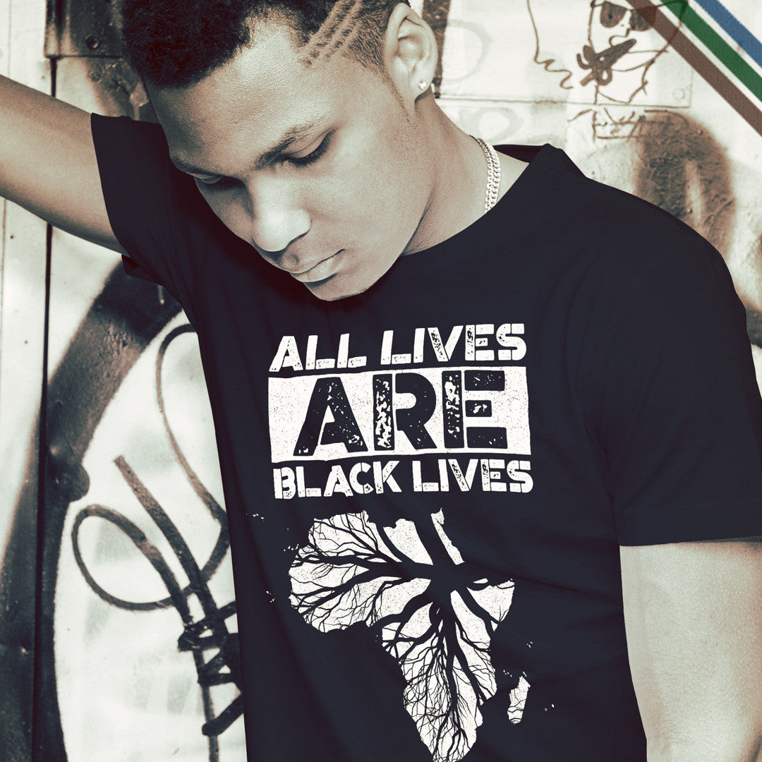 New Design - All Lives are Black Lives