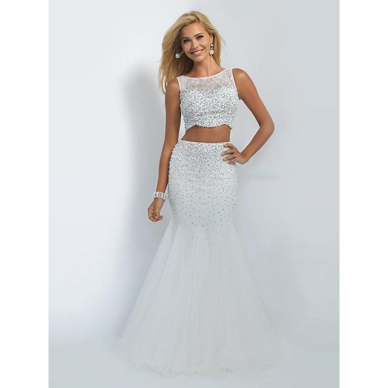 86fc155a2a6 White Long Prom Dresses 2019 Mermaid Sleeveless Sexy For Short Girls Two  Piece-2019- .