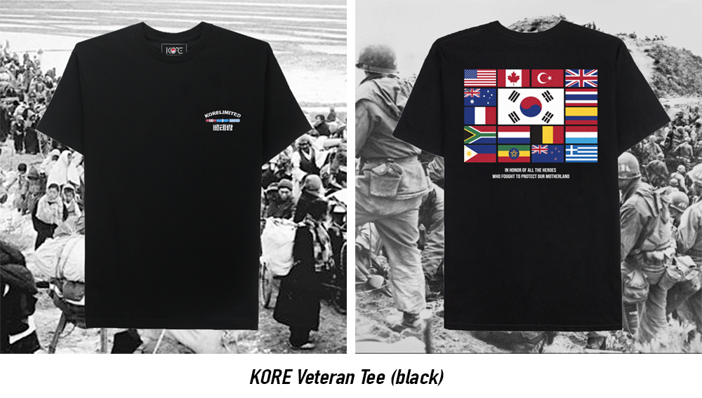 korelimited military veteran tee