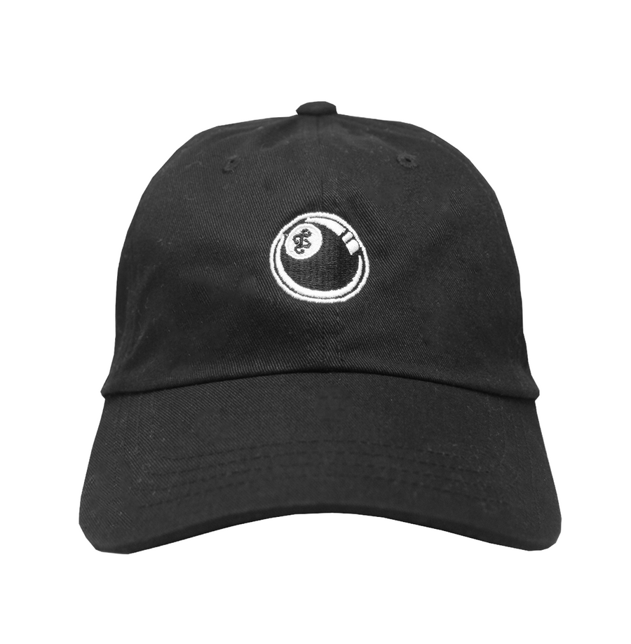 88 BALL DAD HAT (BLACK)