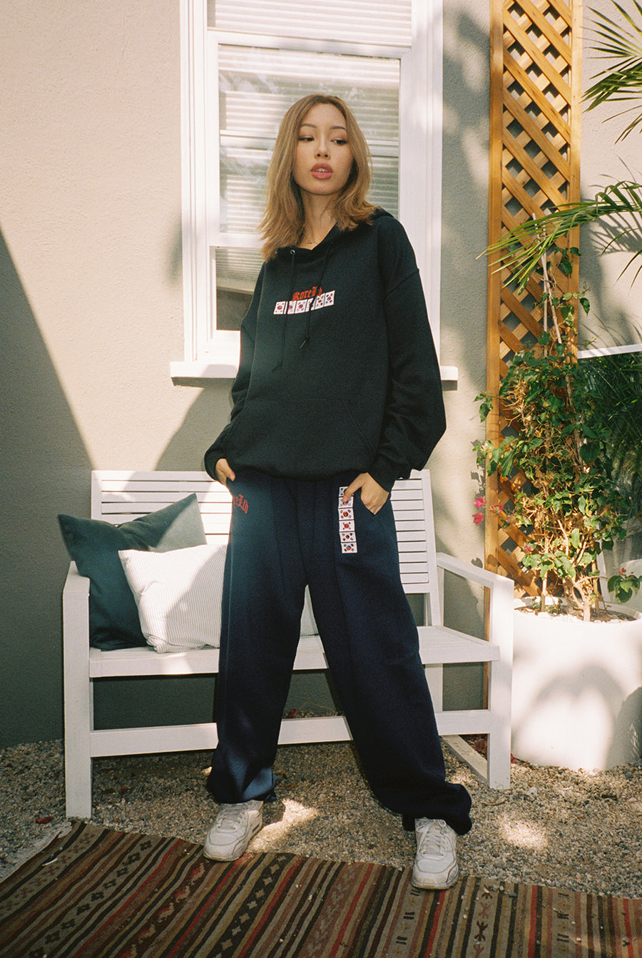 LEGACY SWEATPANTS (NAVY)