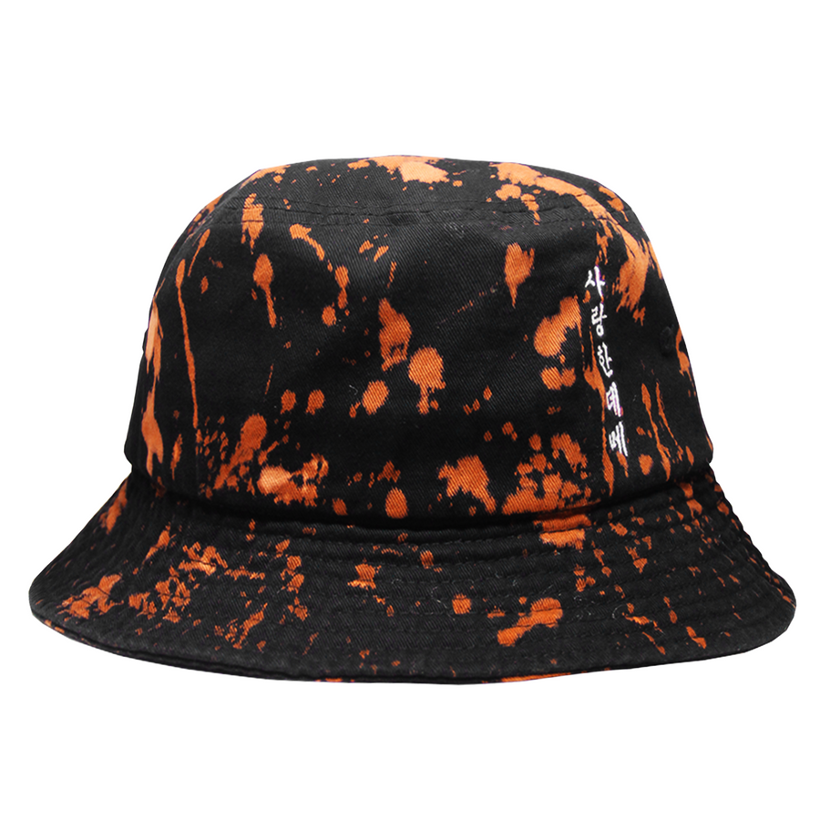 YOU SAID YOU LOVED ME BUCKET HAT (KUSTOM-DYED)