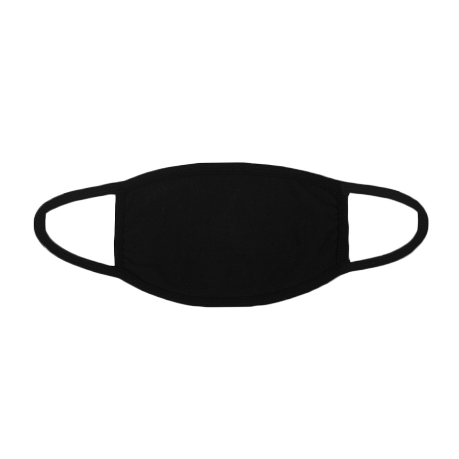 TRI LA FACE MASK (WHITE ON BLACK)