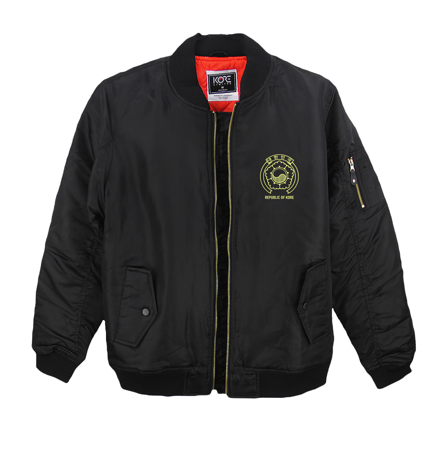 KR-AM PASSPORT BOMBER (BLACK)