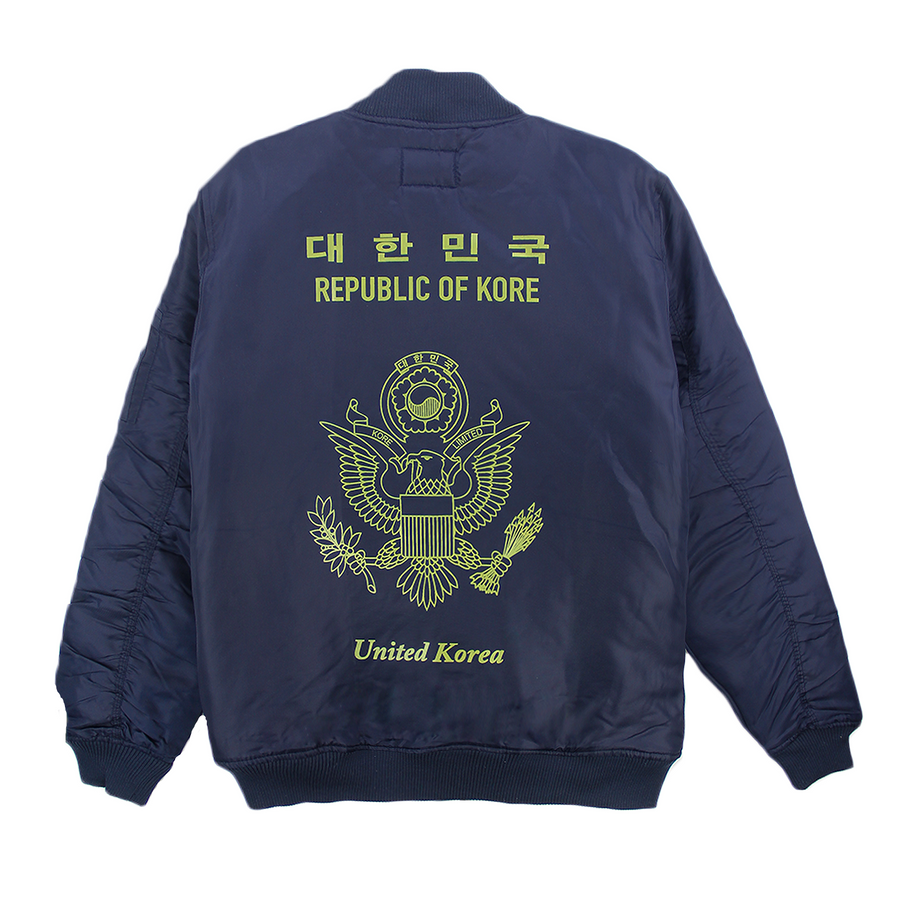 KR-AM PASSPORT BOMBER (NAVY)