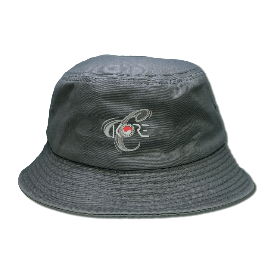 KORE x CHOICE BUCKET HAT (CHARCOAL)