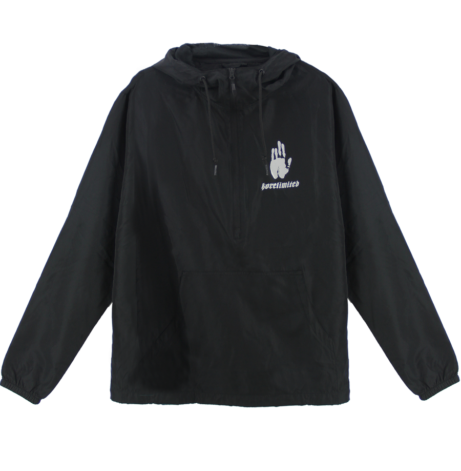 COREA 1900 PULLOVER WINDBREAKER (BLACK)