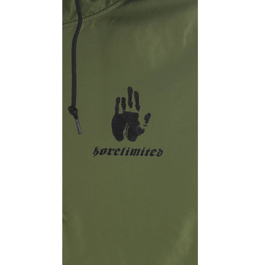 COREA 1900 PULLOVER WINDBREAKER (ARMY GREEN)