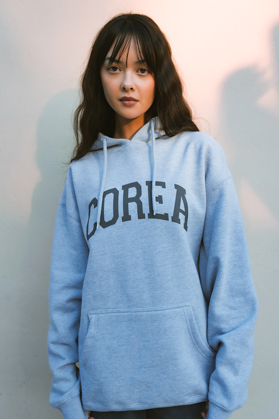 COREA 1900 HOODIE (HEATHER GREY)