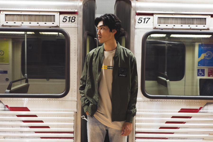 TORNADO BOMBER JACKET (ARMY GREEN) - KORE LIMITED
