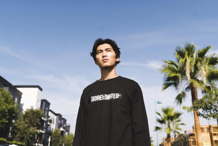 BACKBONE LONG SLEEVE (BLACK)