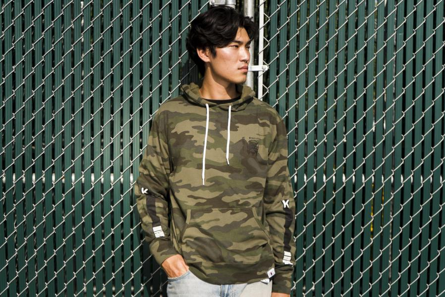 BANK OF KORE PULLOVER HOODIE - LIMITED EDITION (CAMO)