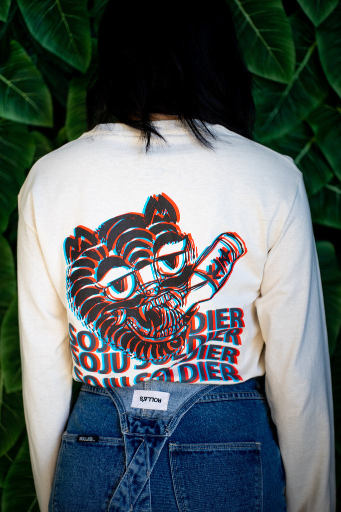 SOJU TIGER LONG SLEEVE (NATURAL)