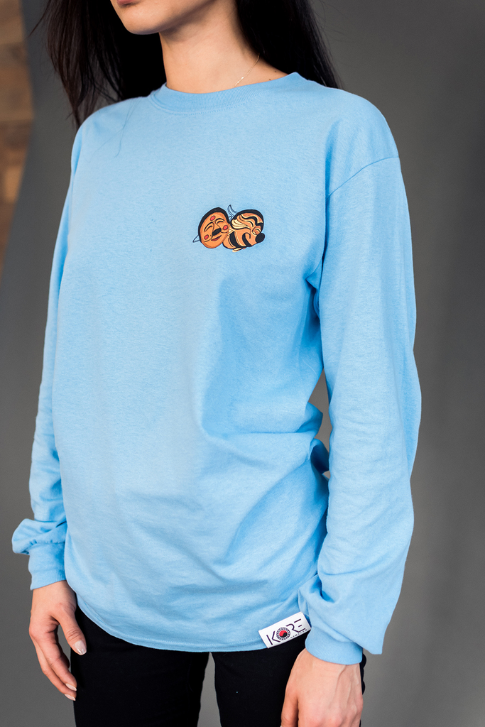 TAL LONG SLEEVE (CAROLINA BLUE)