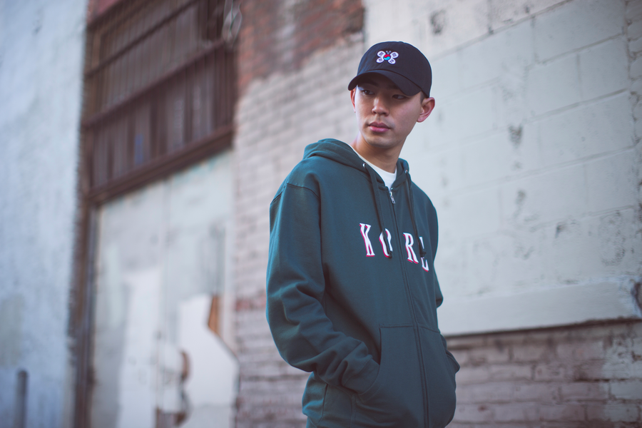 FALCON ZIP UP HOODIE - KORE LIMITED