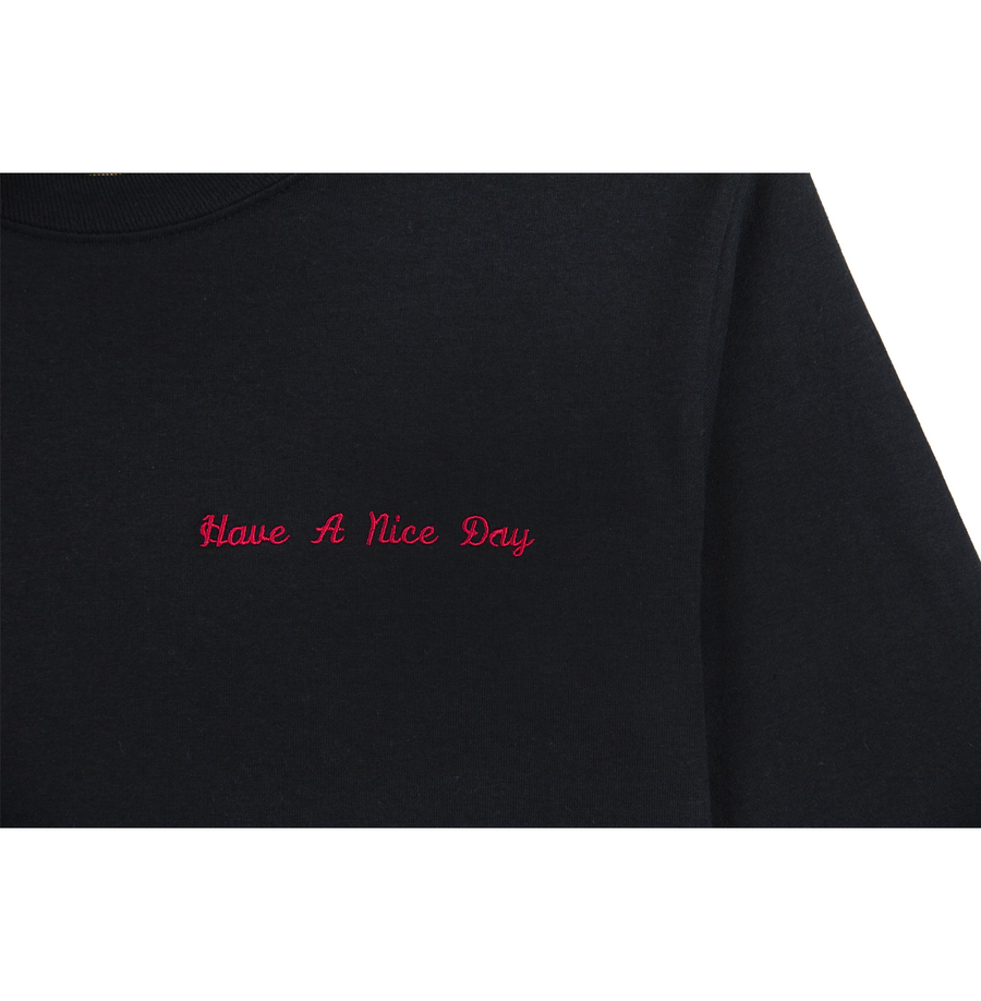 HAVE A NICE DAY LONG SLEEVE (BLACK)