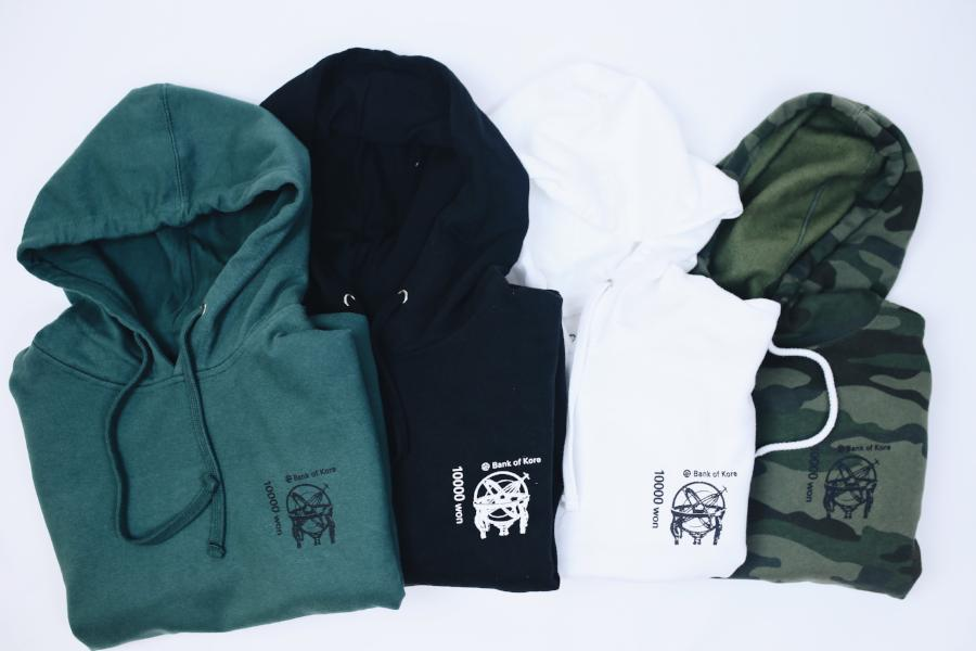 BANK OF KORE HOODIE (ALPINE GREEN)