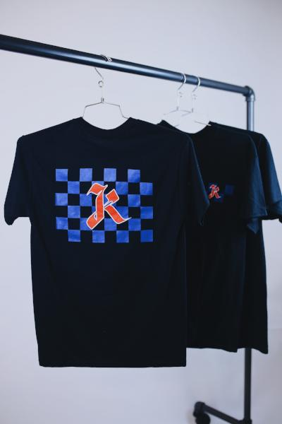 K CHECKERS TEE - KORE LIMITED