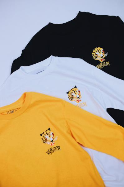 KOREAN TIGER LONG SLEEVE (WHITE)