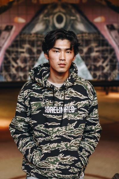 BACKBONE HOODIE - LIMITED EDITION (CAMO) - KORE LIMITED
