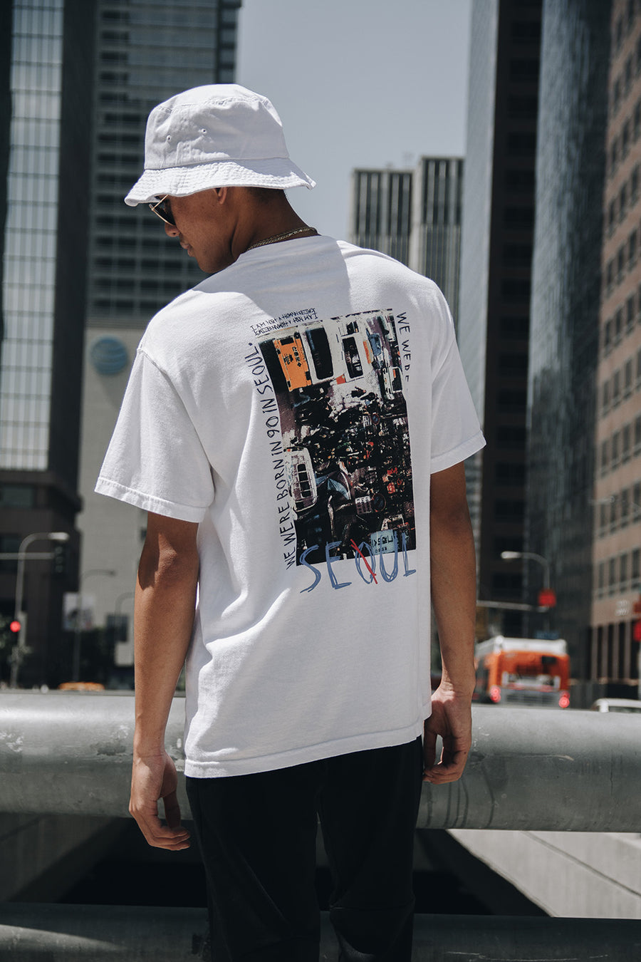 BORN IN 90 TEE (WHITE)