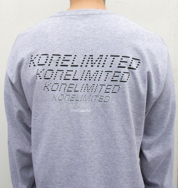 WORLDWIDE LONG SLEEVE (HEATHER GREY) - KORE LIMITED