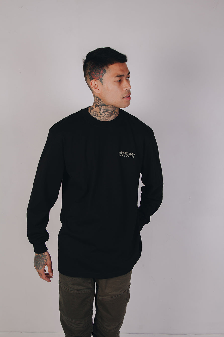 MARCH 1ST LONG SLEEVE (BLACK)