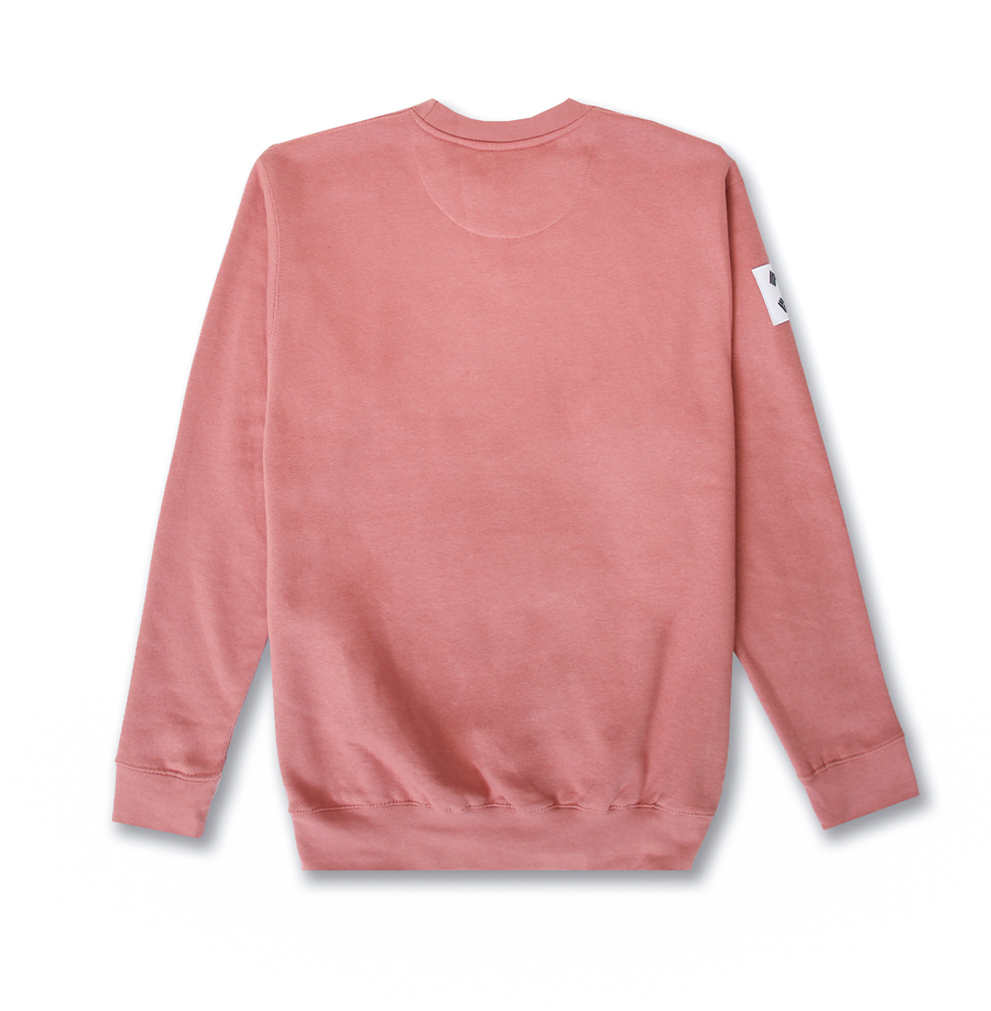 KORE LTD CREWNECK (ROSE)