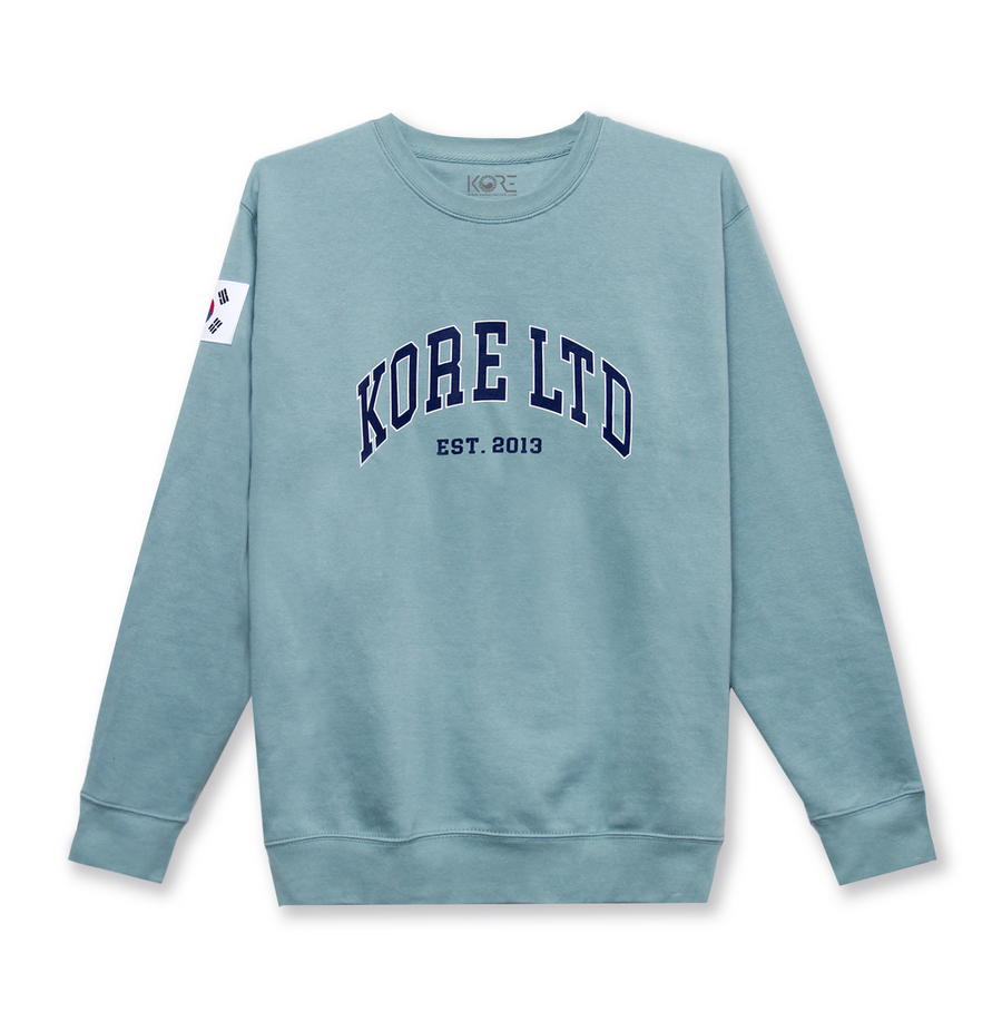 KORE LTD CREWNECK (TEAL)