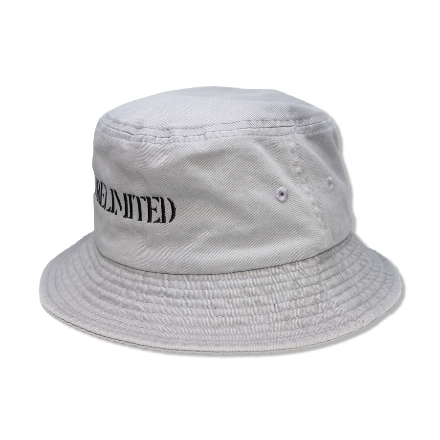 KORELIMITED STENCIL BUCKET HAT (CHARCOAL)
