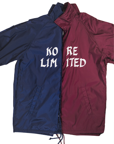 KORE LIMITED COACH JACKET (NAVY)