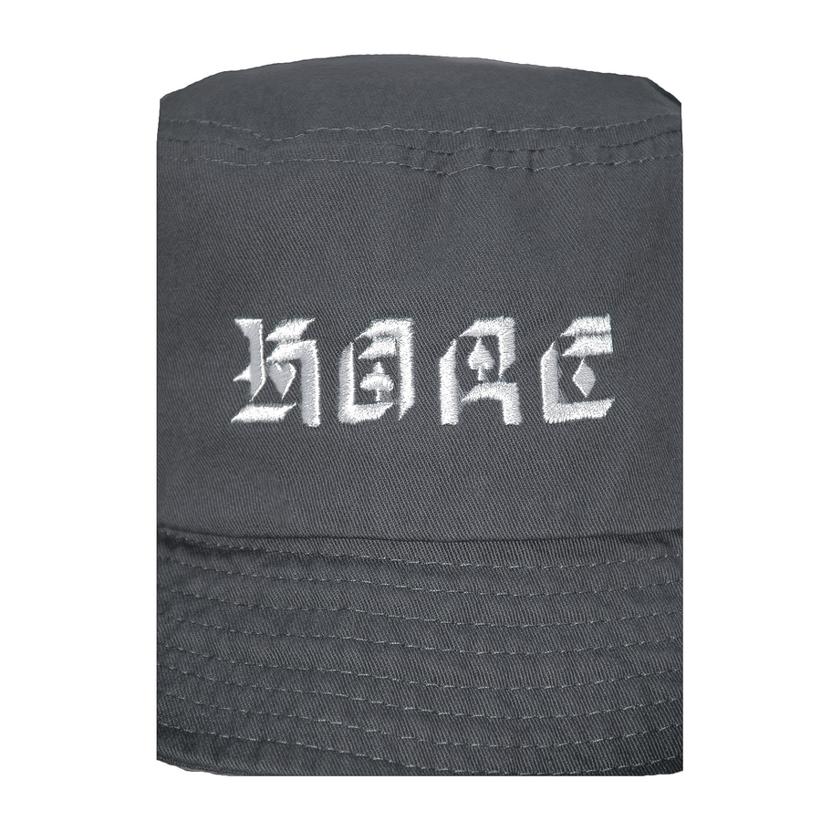 SUITS BUCKET HAT (CHARCOAL)