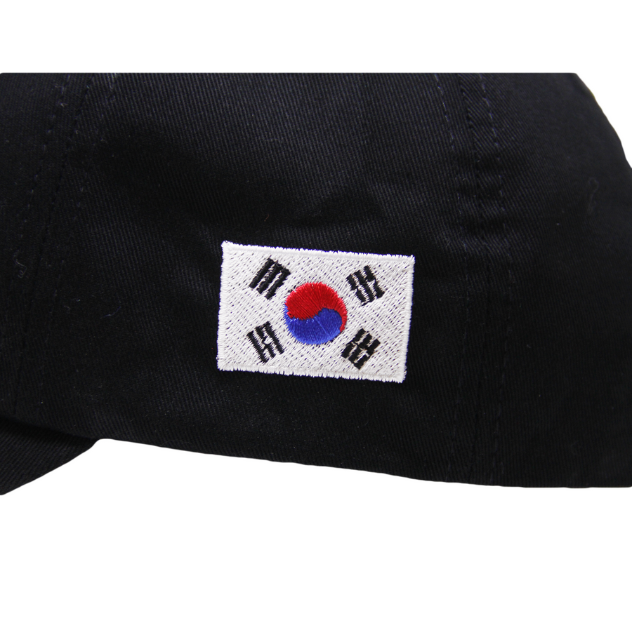 KR OFFICIAL DAD HAT (BLACK)