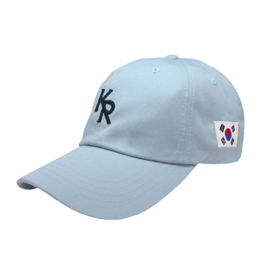 KR OFFICIAL DAD HAT (LIGHT BLUE)