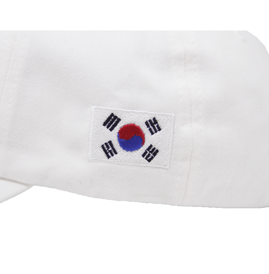 KR OFFICIAL DAD HAT (WHITE)