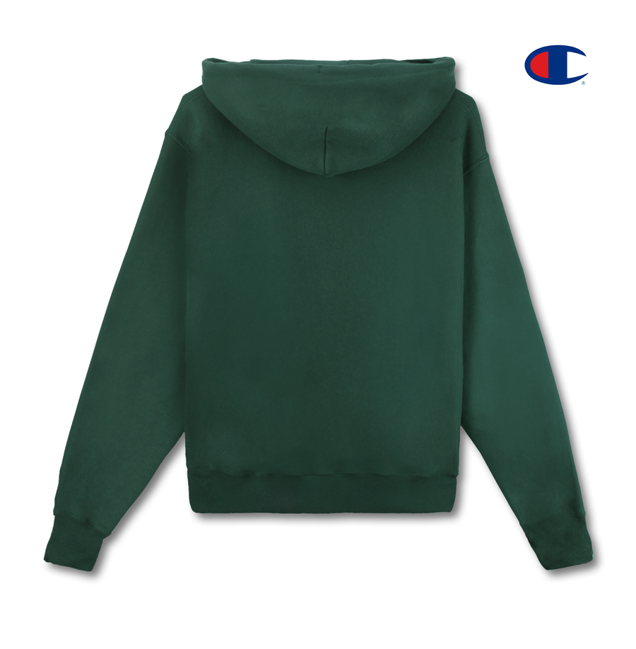 KORELIMITED SCRIPT CHAMPION HOODIE (GREEN)