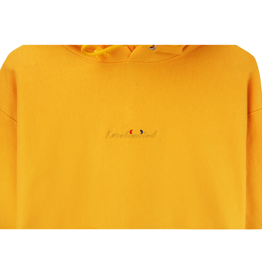 KORELIMITED SCRIPT CHAMPION HOODIE (GOLD)