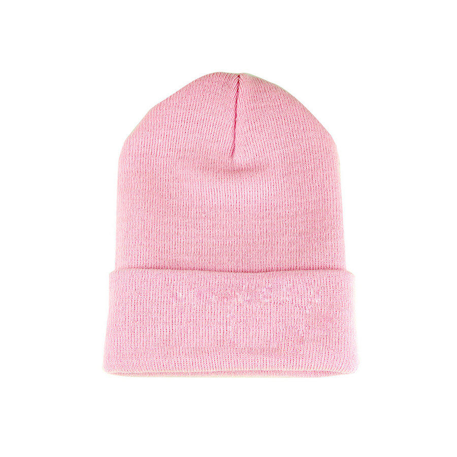 KORE PATCH BEANIE (PINK)