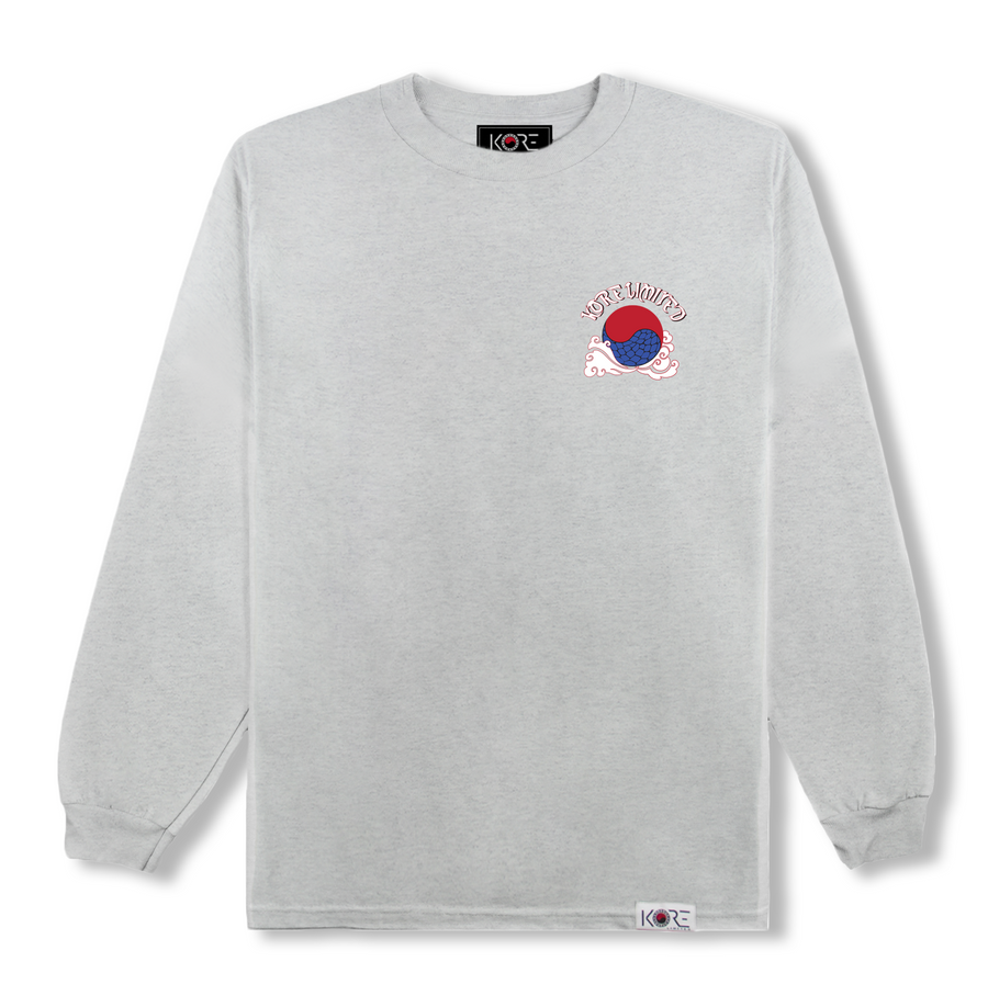 KORE DRAGON LONG SLEEVE (HEATHER GREY)