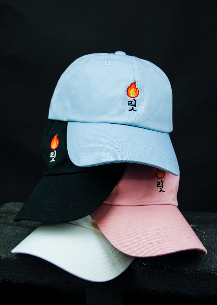 LIT DAD HAT (WHITE) - KORE LIMITED