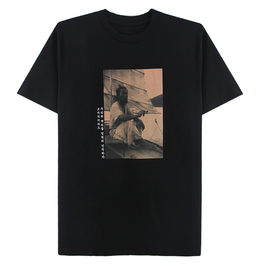 K.O.R.E. SAILOR TEE (BLACK)