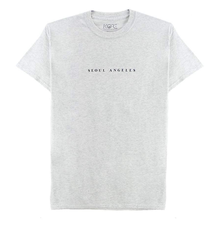SEOUL ANGELES TEE (WHITE HEATHER)