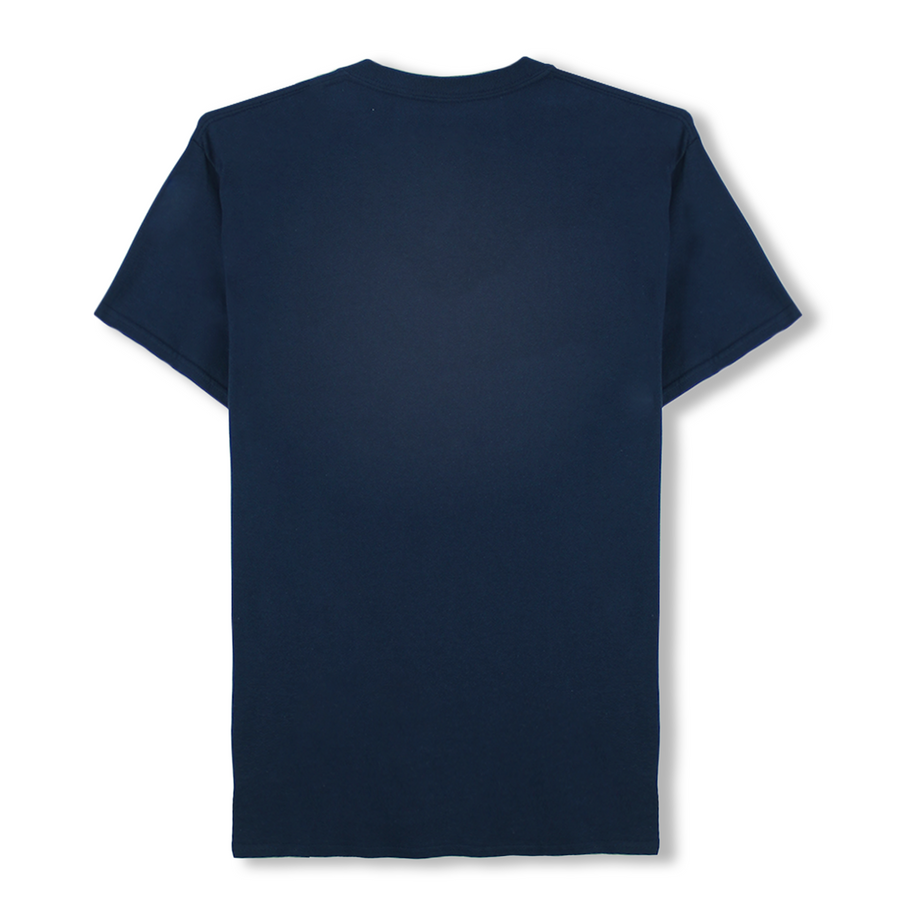 TIGER FOOTBALL POCKET TEE (NAVY)
