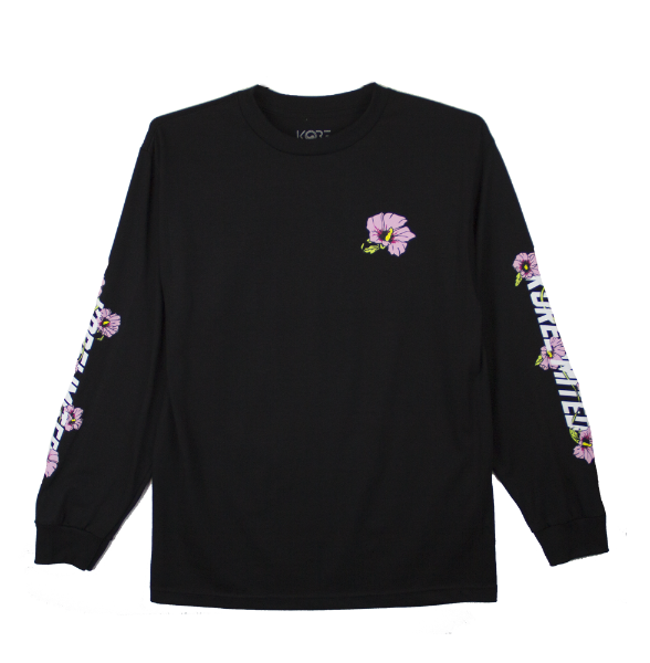 MUGUNGHWA LONG SLEEVE (BLACK)