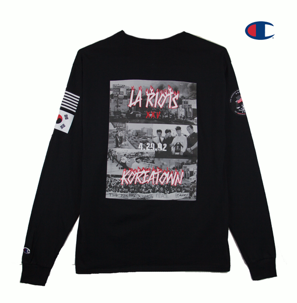 LA RIOTS SPECIAL EDITION LONG SLEEVE (BLACK)