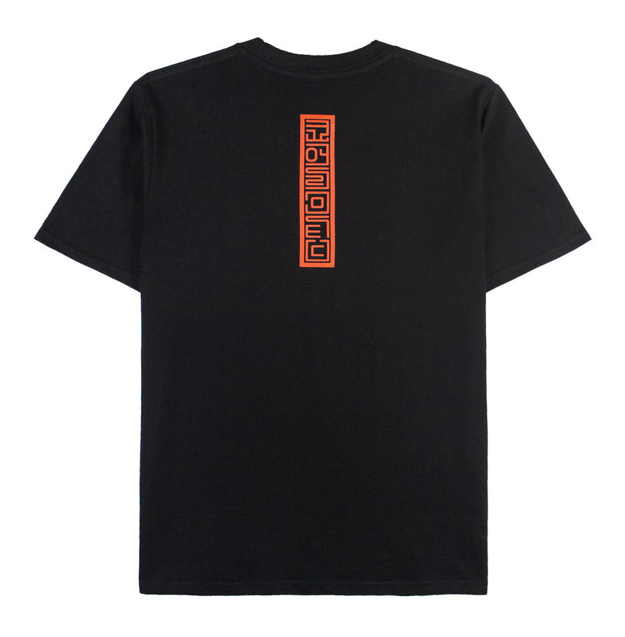 RED STAMP TEE (BLACK)