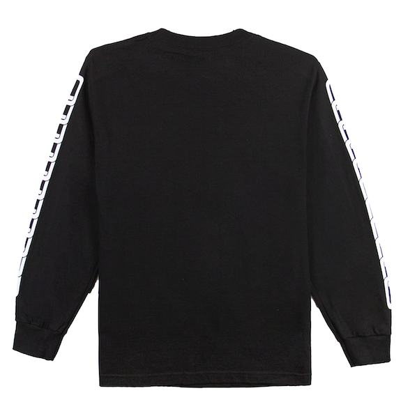 SMILES PET LONG SLEEVE (BLACK)