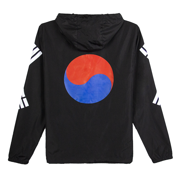 TAEGUK WINDBREAKER JACKET (ALL BLACK)
